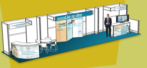 Trade Show Display Graphic for Penn Companies Designed by DDA